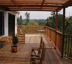 image of wood deck